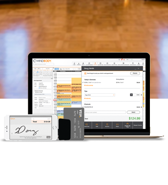 MINDBODY software Screenshot