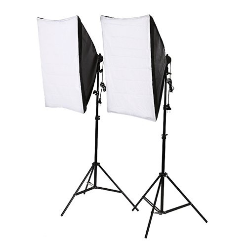 softboxes and diffusers for clinical photography camera