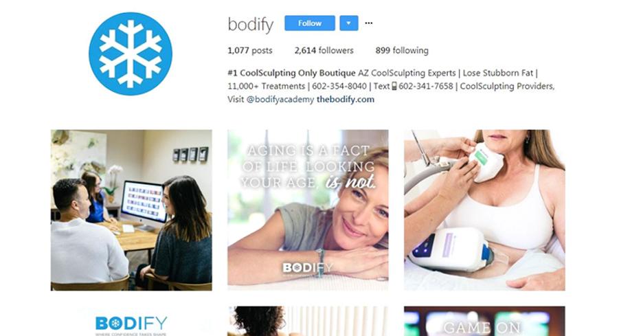 social media presence digital plastic surgery software